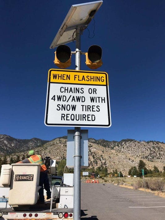 Chain Requirements Sign