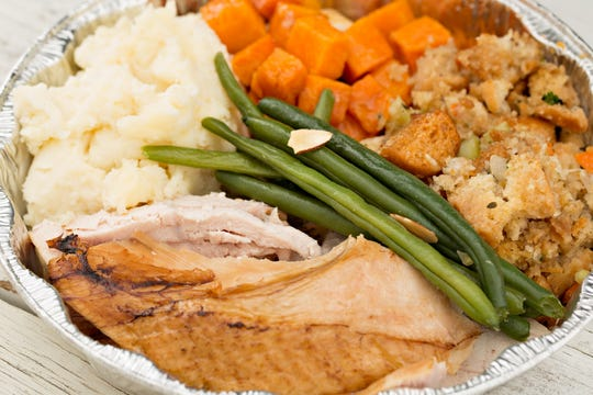 Thanksgiving leftovers should be stored only three or four days in the refrigerator.
