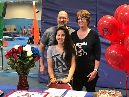 Malia Hargrove With Parents Nov 14