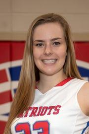 Maddie Downing, Tri-Village girls basketball