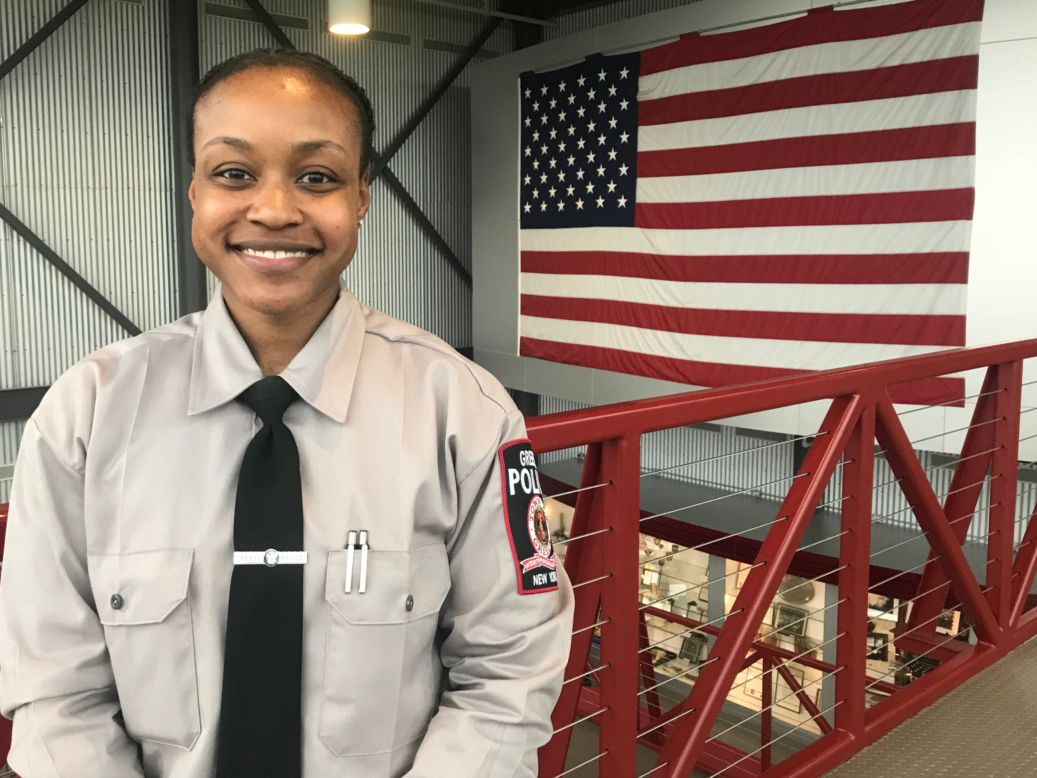 First African-American female officer joins Greece Police Department