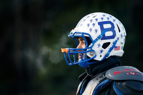 Batavia running back Ray Leach, shown at practice earlier this month, has recovered from injuries sustained in a preseason stabbing to put up huge numbers this season.