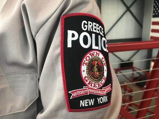 Greece Police Department patch
