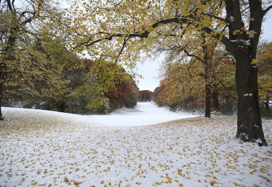 Snow Golf Course Durand Eastman Golf A