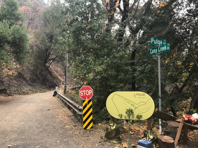Cal Fire says the Camp Fire started neat Camp Creek and Pulga roads. Camp Creek Road has been closed while Cal Fire investigates the cause of the fire.