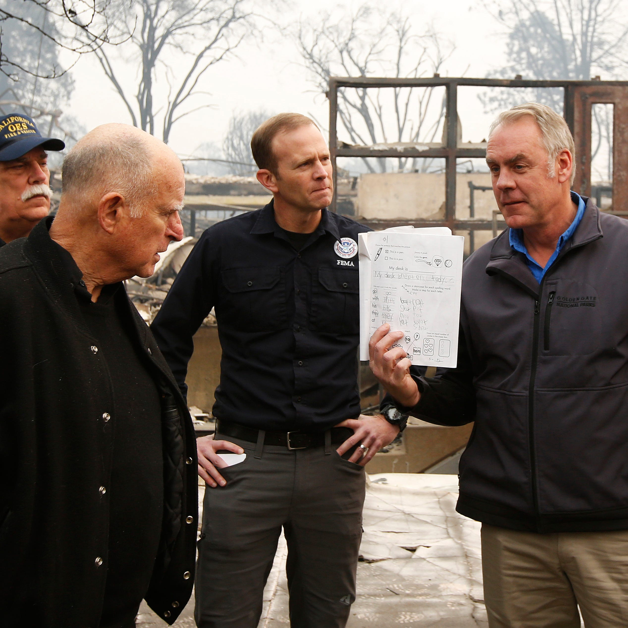 Secretary Zinke, California Gov. Brown: Camp Fire worst disaster they've seen