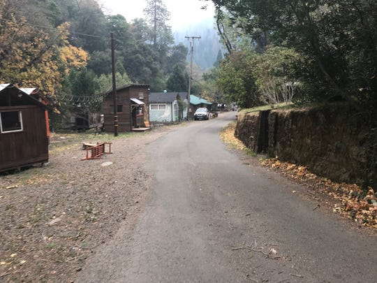 The Town of Pulga is rented out for weddings, corporate retreats and parties. The town is about a mile from where the Camp Fire started.