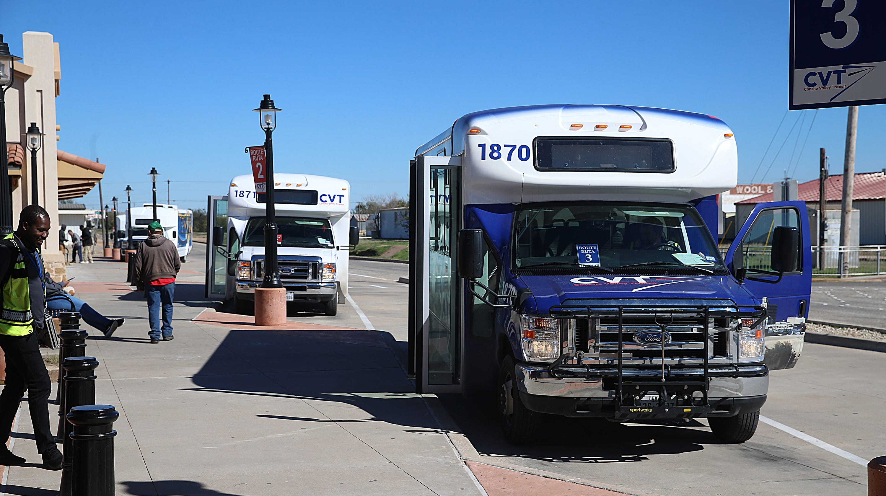 Concho Valley Transit To Briefly Close Three Bus Stops In
