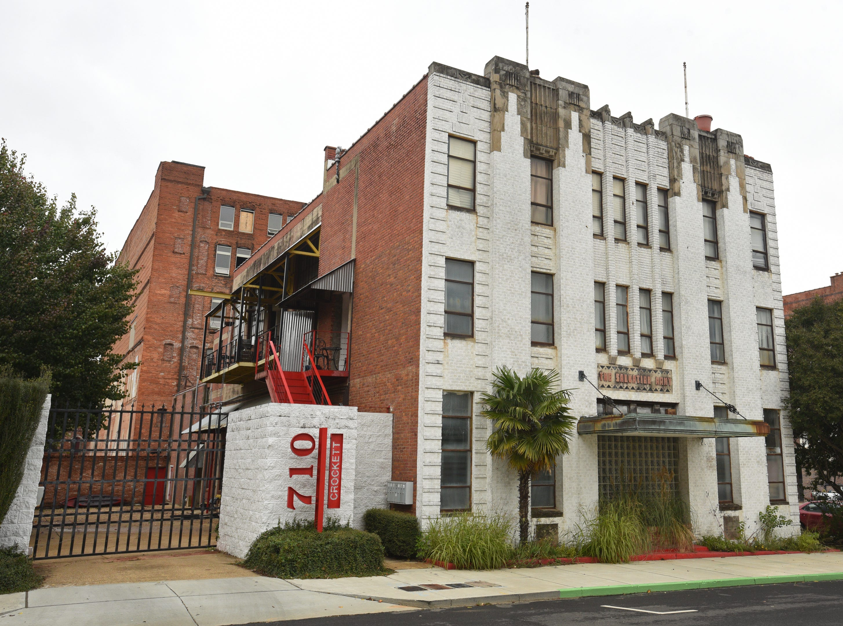 710 Crockett Lofts in Shreveport.