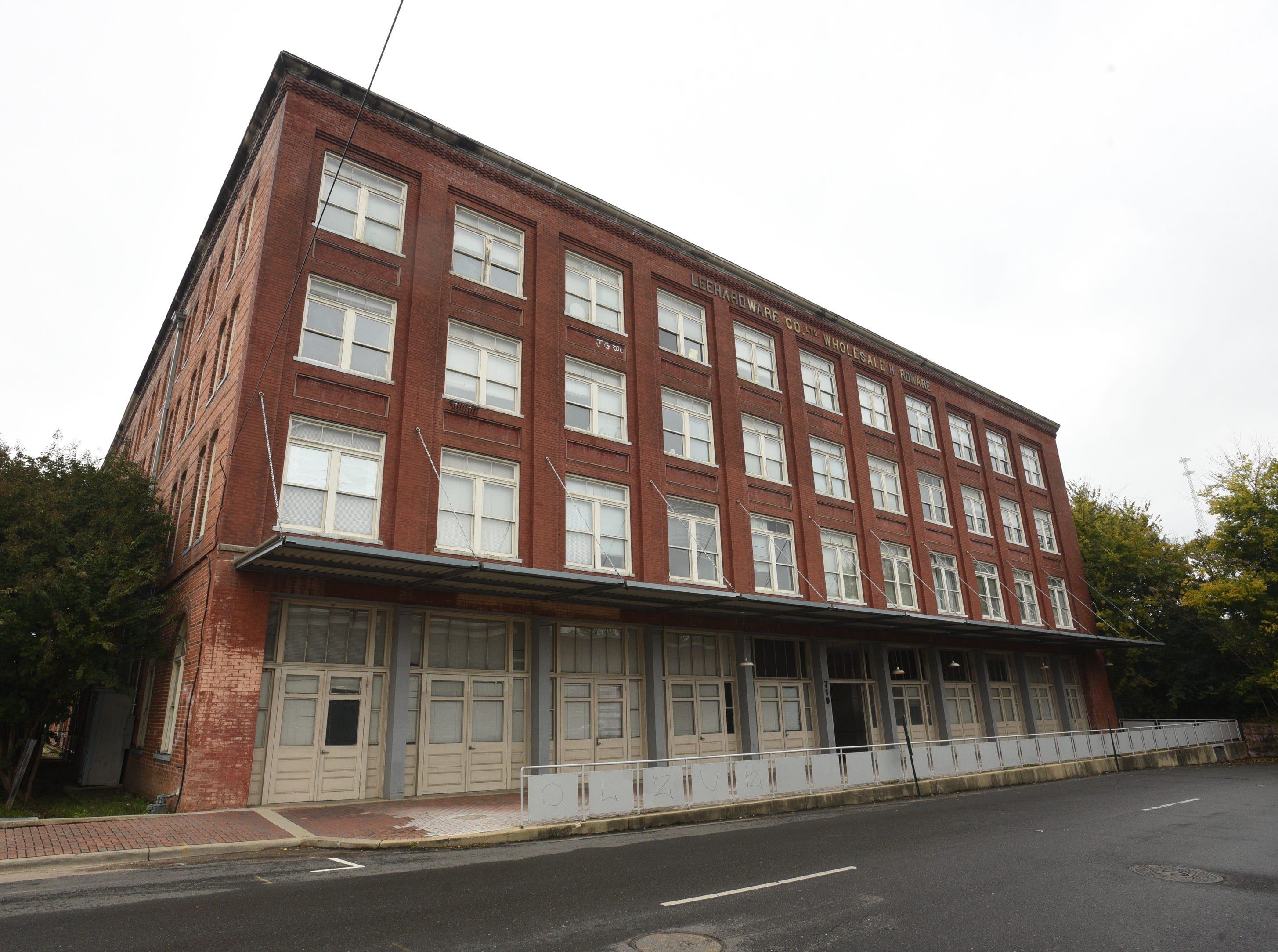 Lee Hardware Apartments in Shreveport.