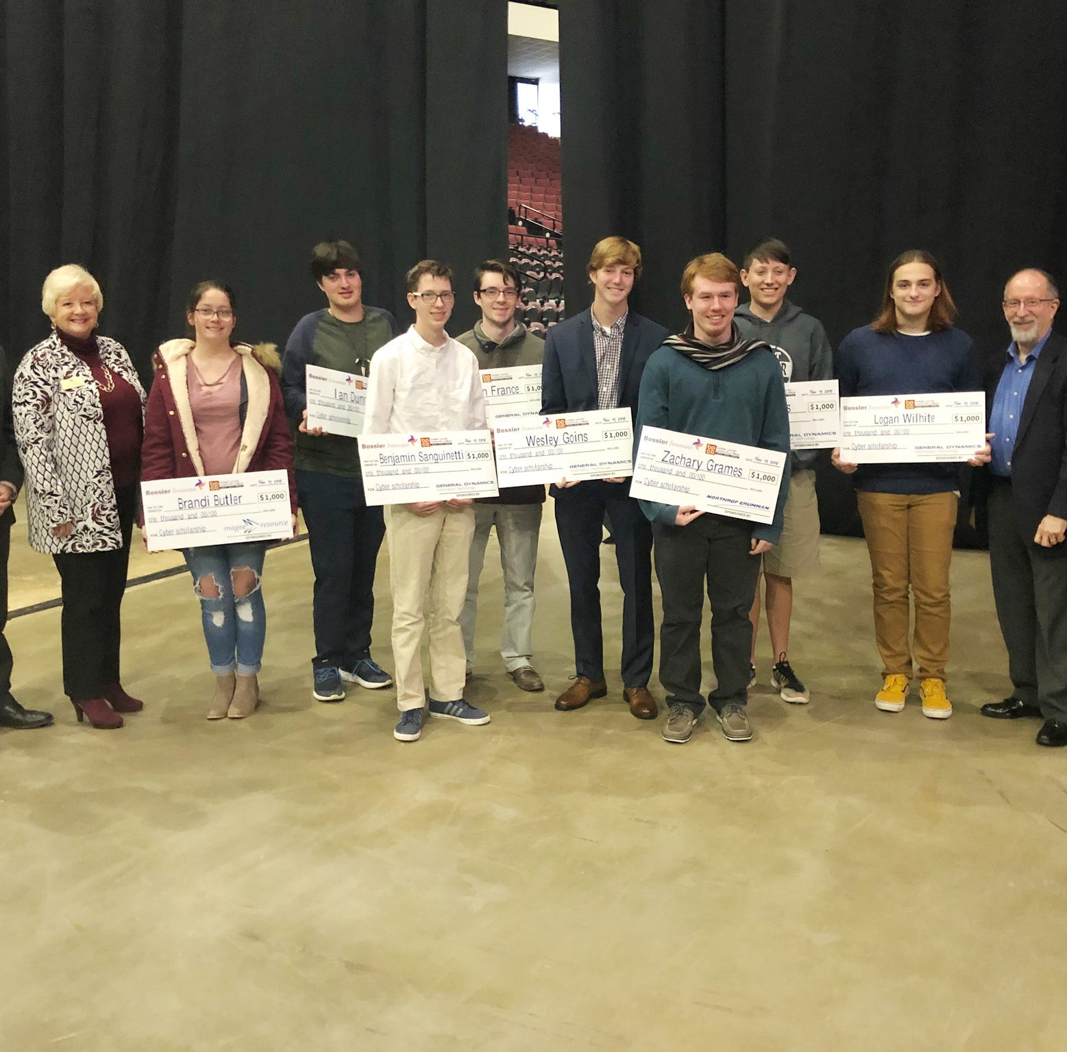 Local students awarded scholarships at innovation event