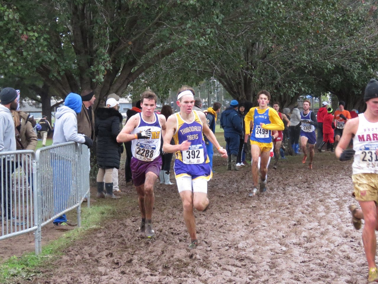 Byrd's Allen England finishes third at state cross country meet