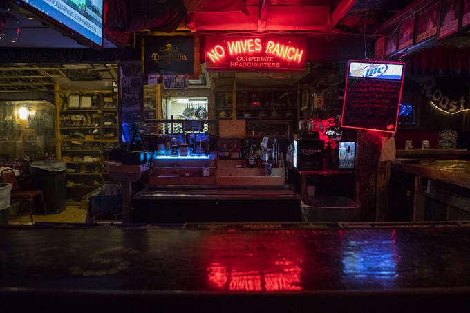 The interior of Frank Day's Bar and Restaurant in Dallas, S.D. is shown on Tuesday, Sept. 26, 2018.