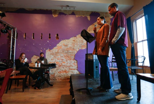 Christina Ford and her husband Dana Ford, the Missouri State head basketball coach, talk about their plans to open a transitional home for victims of domestic violence on Monday, Nov. 12, 2018.