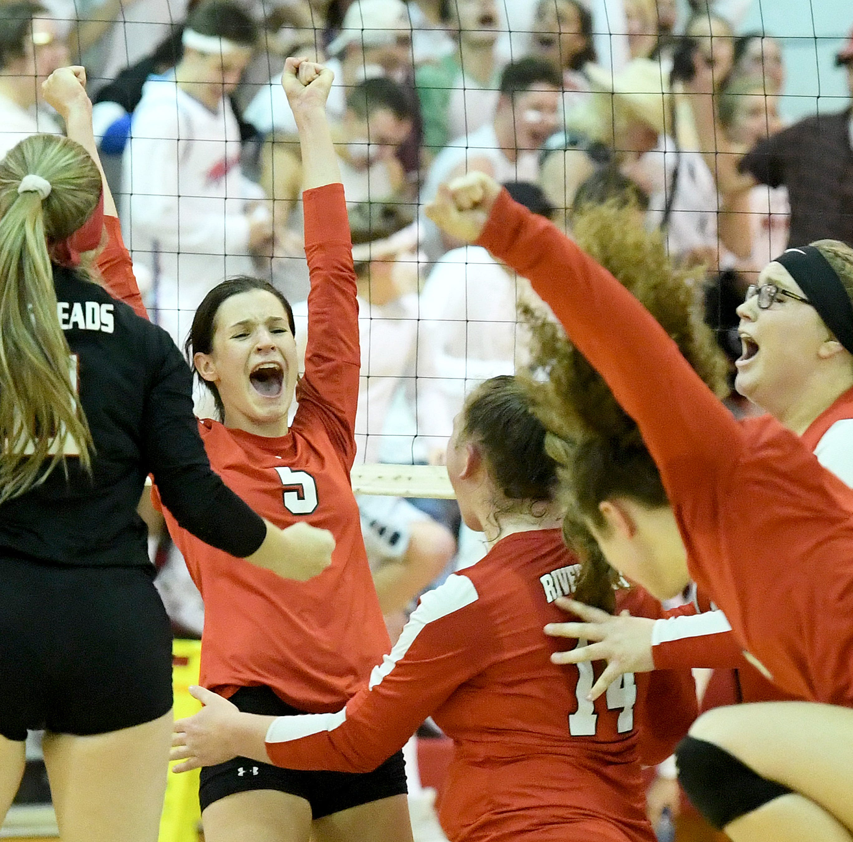 Photos: Riverheads beats Mathews, wins state semi finals to advance