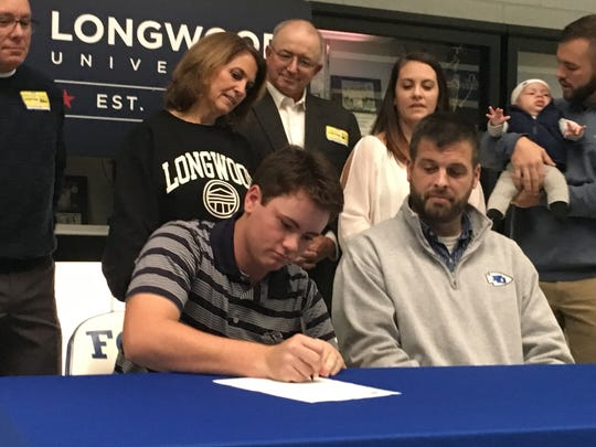 Fort Defiance senior Christian Michael will play golf next year at Longwood University in Farmville.