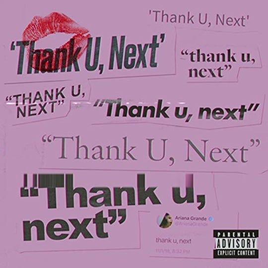 Thank U, Next byAriana Grande