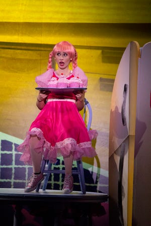 Pinkalicious (Hannah Trowell) has a sweet tooth, especially for pink cupcakes!