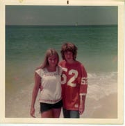 Mark Hinson met a girl from Tulsa, Oklahoma, at Mexico Beach in the '70s.