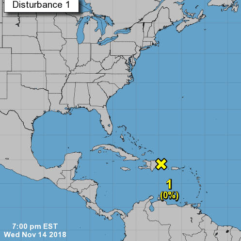 Tropical wave continues to weaken as Florida waits for arrival of approaching cold front