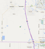 A controlled burn will be conducted Nov. 14, 2018 near Interstate 95 between Fellsmere and Vero Beach.