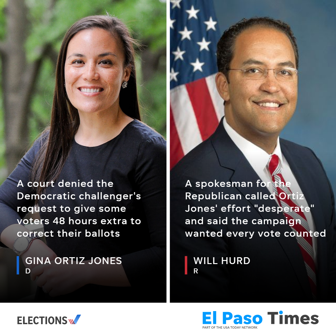 Court refuses delay for Will Hurd-Gina Ortiz Jones election; recount possible