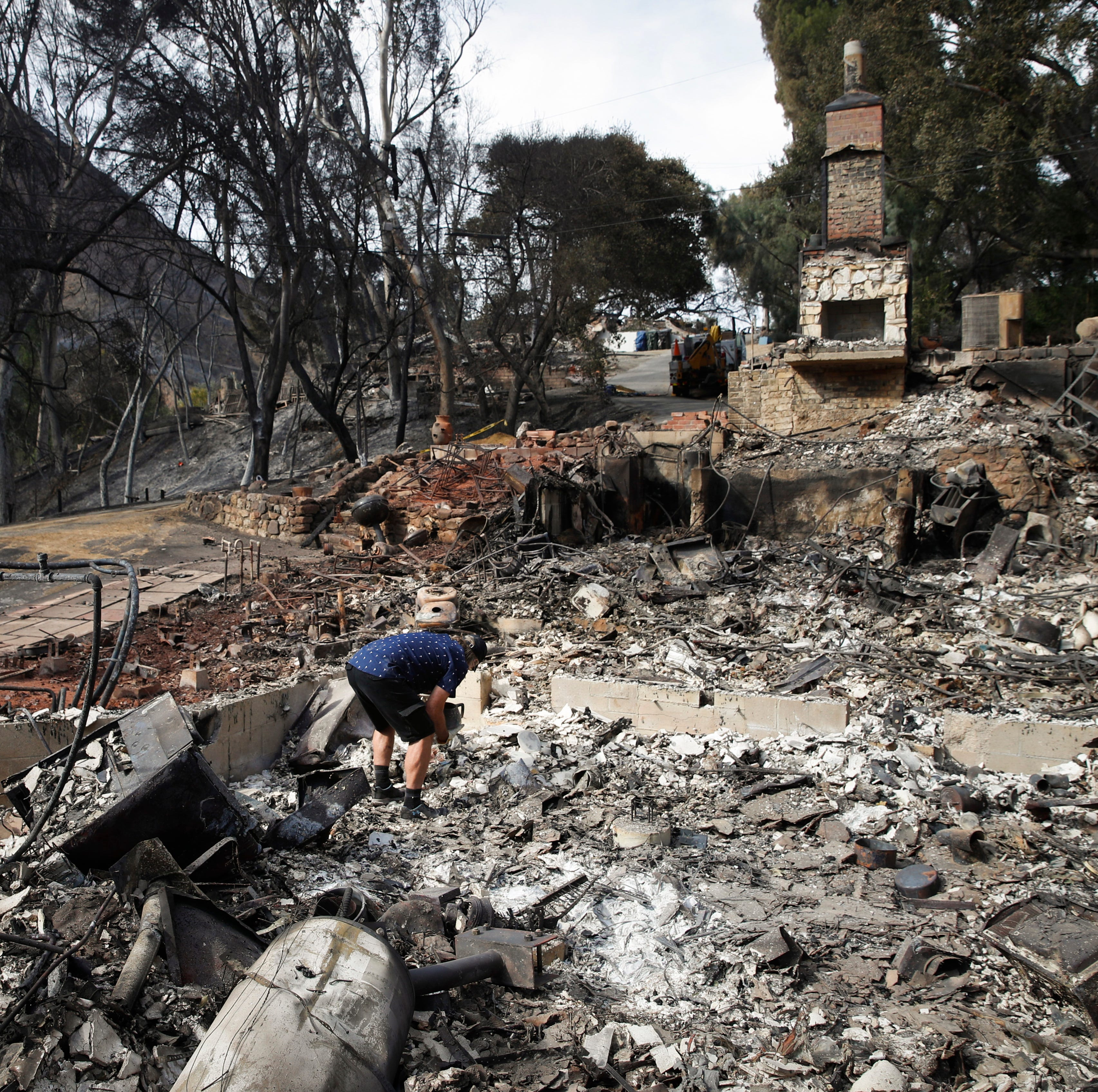 Third body found in Woolsey Fire area; containment increases to nearly 50 percent