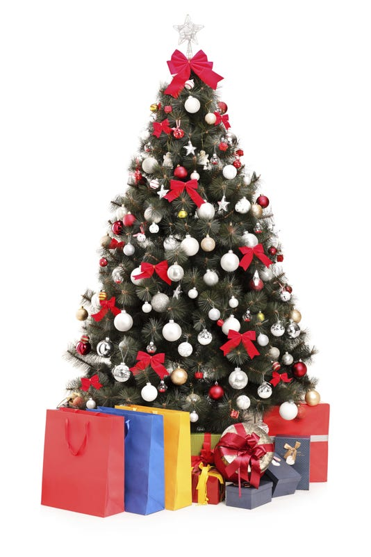 Christmas Tree With Gifts Getty Images Istockphoto