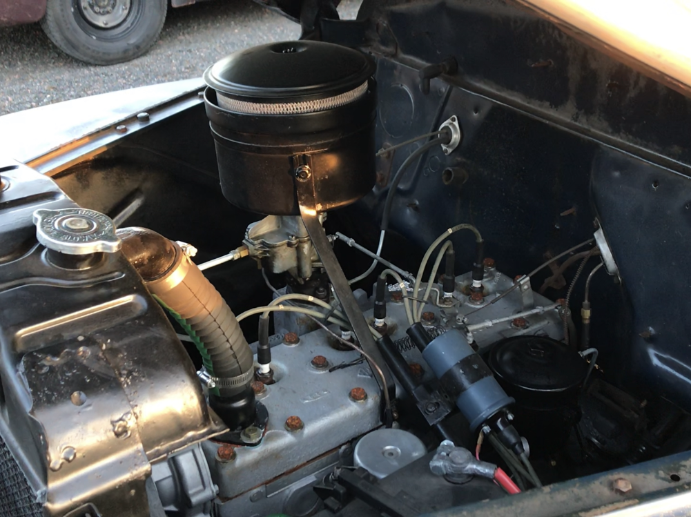 Dale had the six-cylinder engine rebuilt.