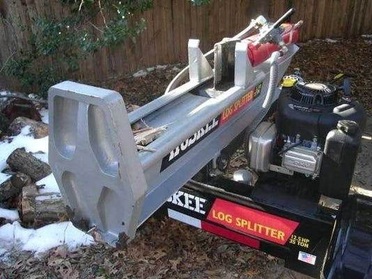 Huskee Log Splitter For Crime Stoppers