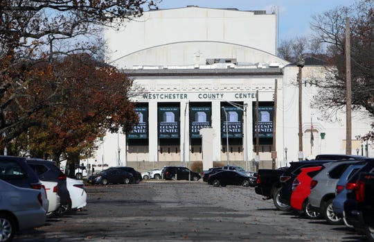 The Westchester County Center seen from the parking lot south of it Nov. 14, 2018 in White Plains.