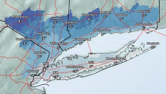 Snow Map 1114