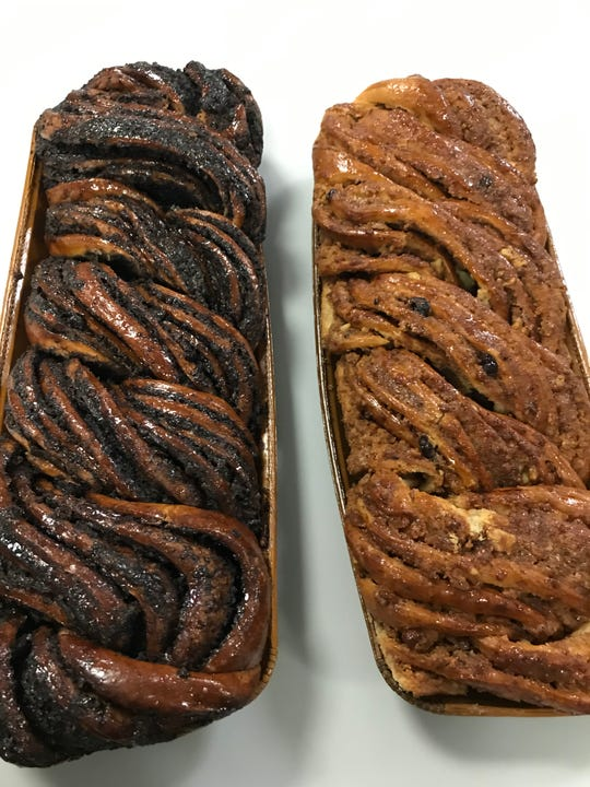 Chocolate and cinnamon nut babka from Martine's Bake Shoppe in Scarsdale. Photographed Nov. 13, 2018.