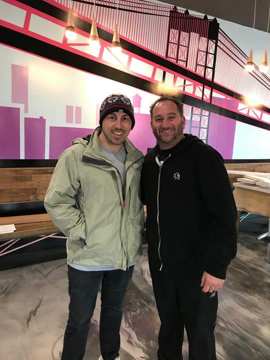 Nick Di Bona, left, with his business partner, Scott Herman.