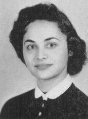 Nita Lowey - High School Yearbook photo from Bronx High School of Science class of 1955