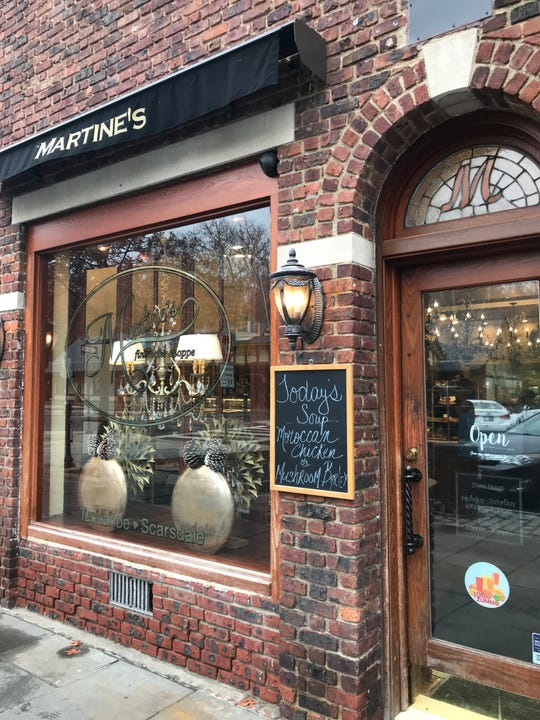 "Martine's Bake Shoppe in Scarsdale.  Jerry Seinfeld bought the chocolate babka here on Nov. 11, 2018 as part of a segment for ""Comedians in Cars Getting Coffee."""