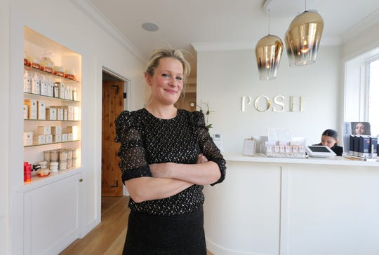 Diana Rainsford, the owner of Posh Beauty Boutique in Bronxville, is pictured in her shop, Nov. 14, 2018.