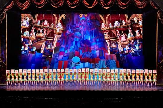 "Radio City ""Christmas Spectacular"" at Radio City Music Hall in New York City runs through Jan. 1."