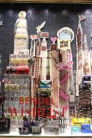 """Bendel's 2018 holiday windows. The theme for this year is """"Everything A #BendelGirl Could Want and So Much More."""""""