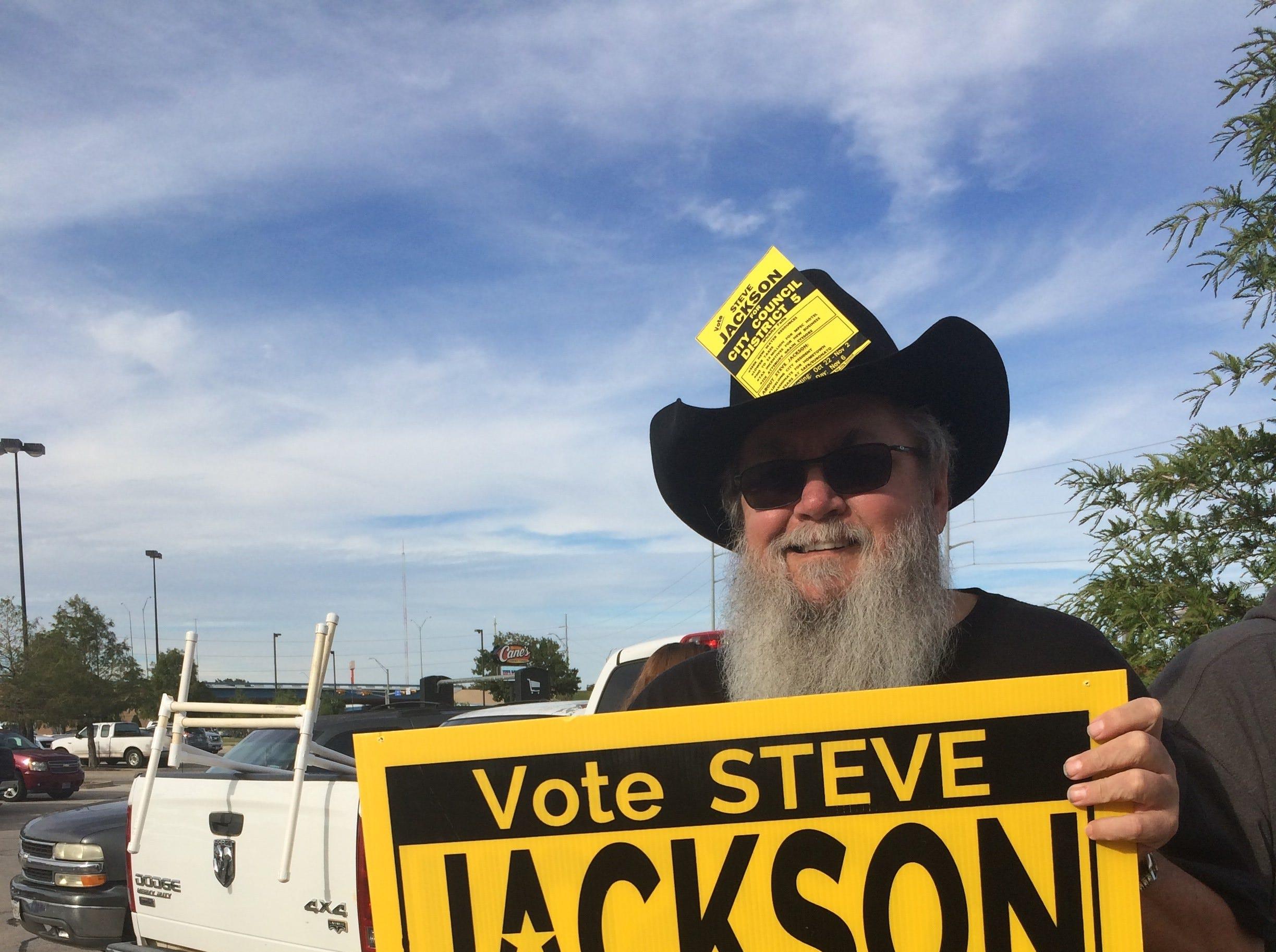 Jackson declared winner of Wichita Falls City Council District 5 race, no runoff
