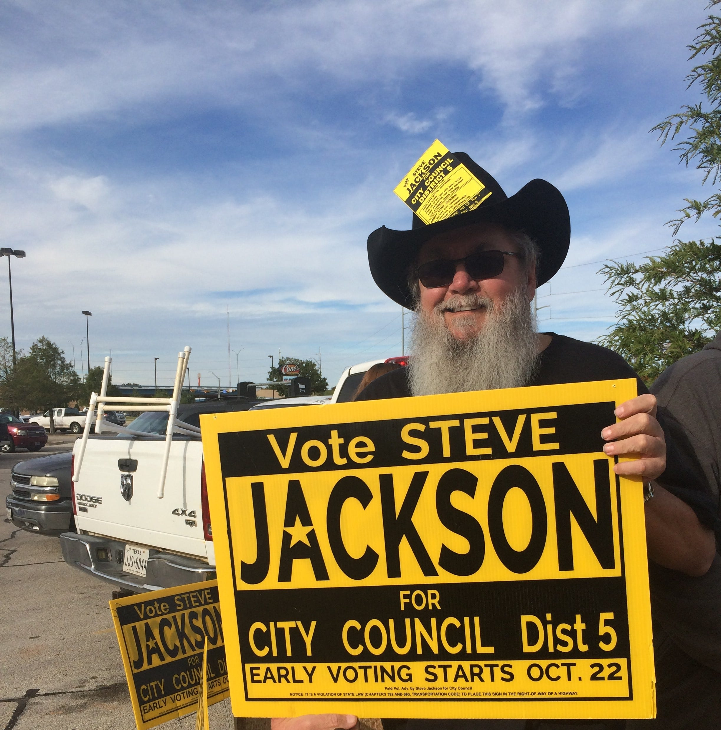 Jackson declared winner of Wichita Falls City Council District 5 race, no runoff