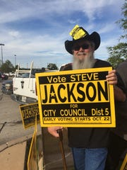 Steve Jackson will be sworn in as the Wichita Falls City Council District 5 at the council meeting Tuesday.