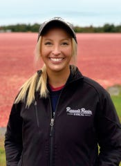 For Amber Schultz and her family, there is no sweeter fruit than the cranberry. She says she loves this land and is proud of her work. C