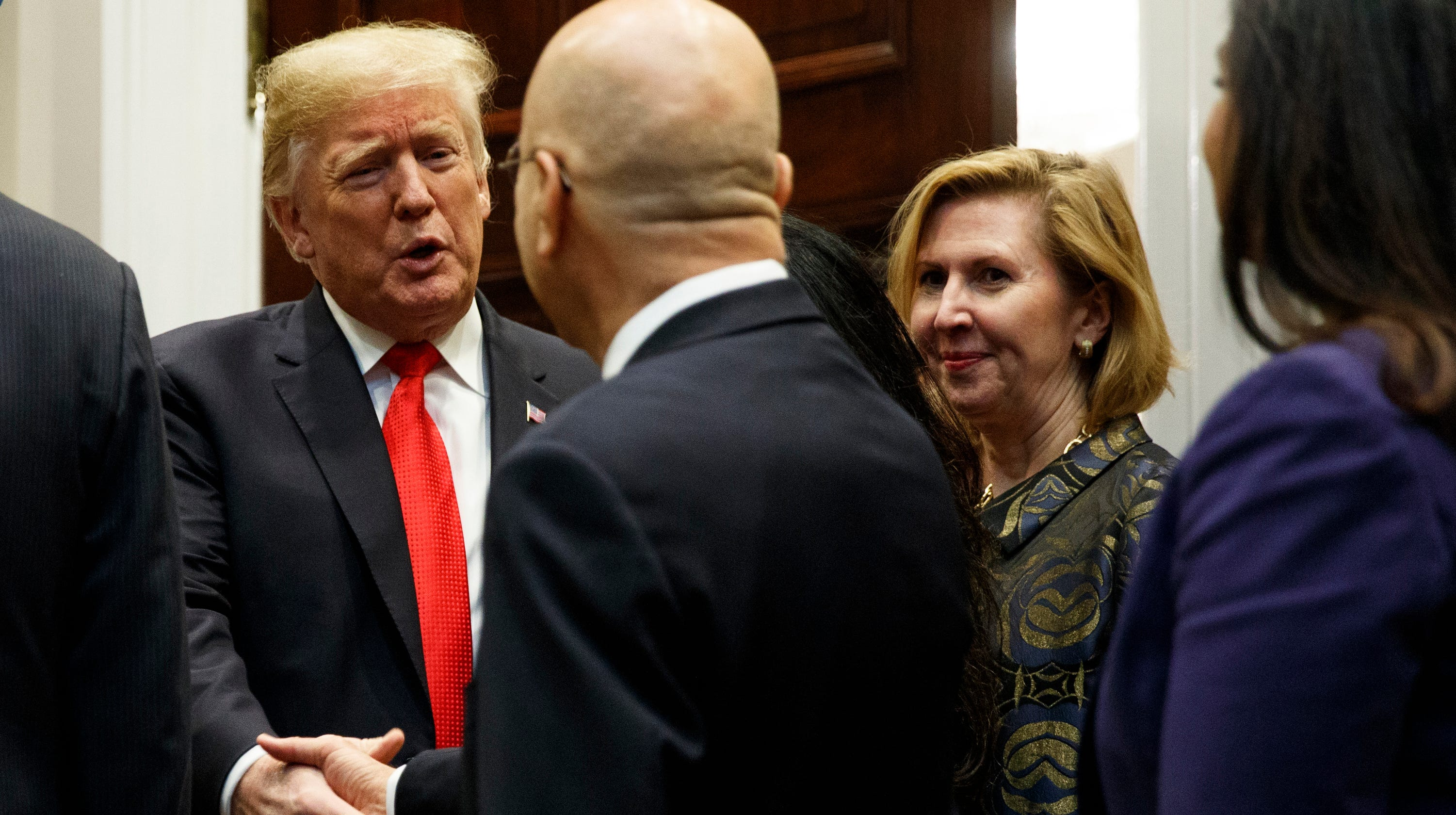 4e965ebbc6b0c Donald Trump reassigns deputy national security adviser Mira Ricardel