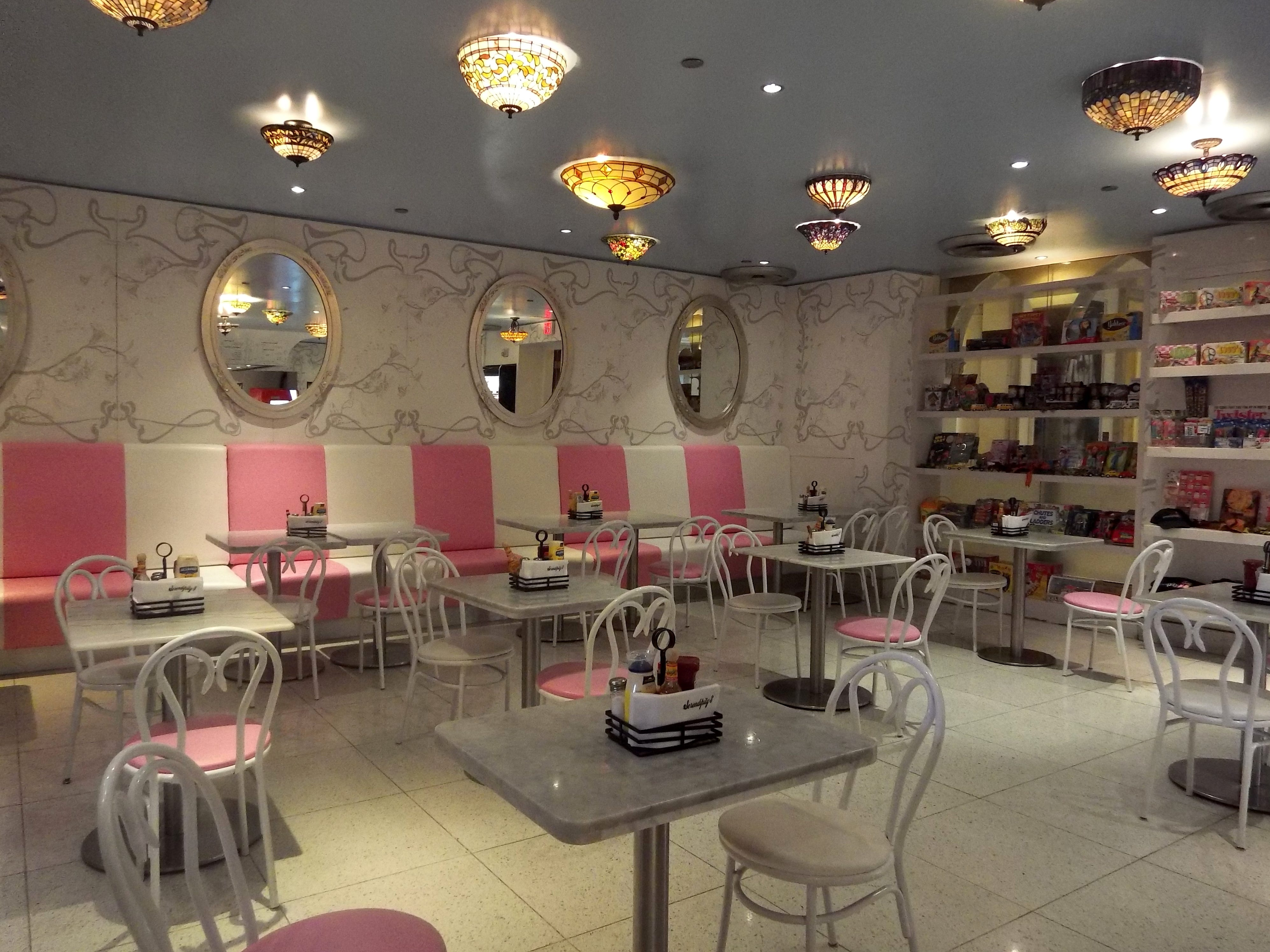 Inside Serendipity, a third location of the famous old-fashioned ice cream and candy shop out of Manhattan that opened within the resort in 2007.