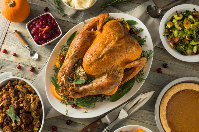 The average Thanksgiving meal costs $48.90 this year, according to the American Farm Bureau Federation.