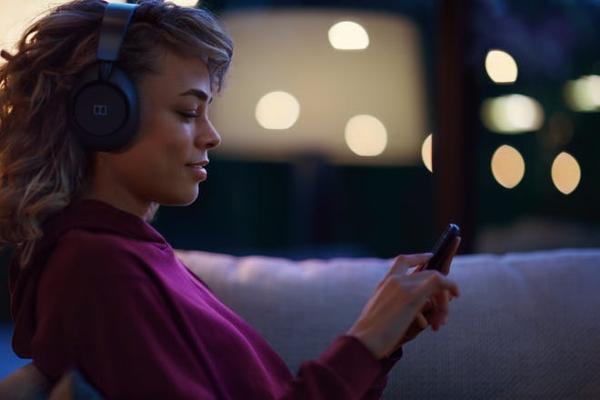 Dolby Dimension headphones are designed to be used at home.
