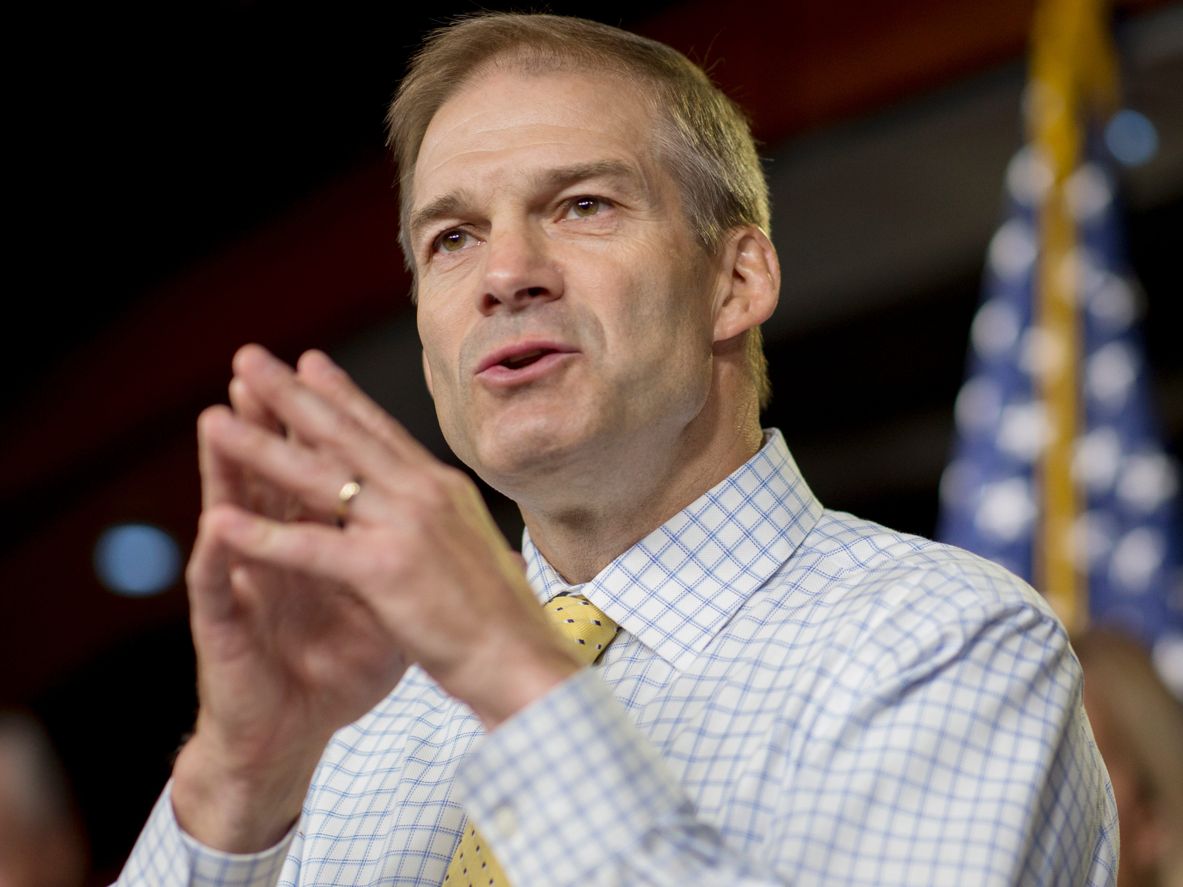 Trump tried to broker House leadership deal, promote loyalist Jim Jordan, report says