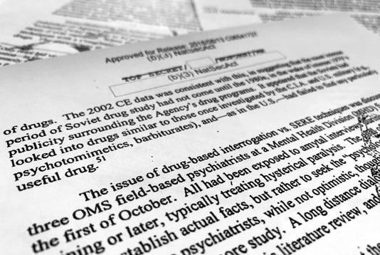 Ap Cia Interrogation Drugs A Usa Dc