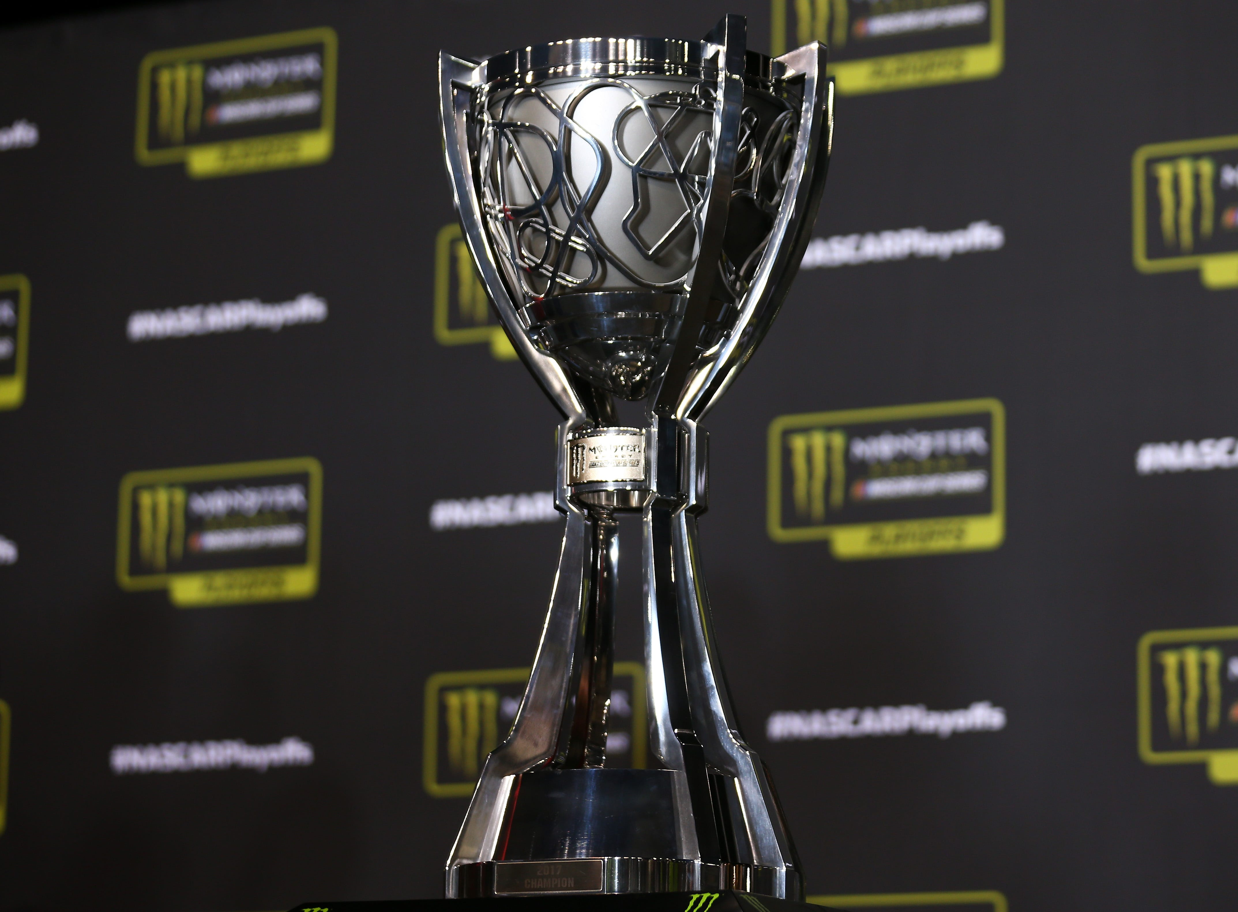 11-14-18-Monster Energy NASCAR trophy